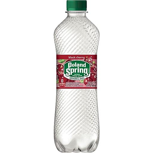 NESTLE - POLAND SPRING SPARKLING WATER - (Black Cherry)-1L