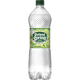 NESTLE - POLAND SPRING SPARKLING WATER - (Zesty Lime) - 1L