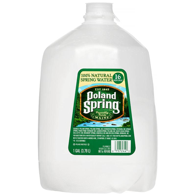 NESTLE - POLAND SPRING WATER - 1GALLON
