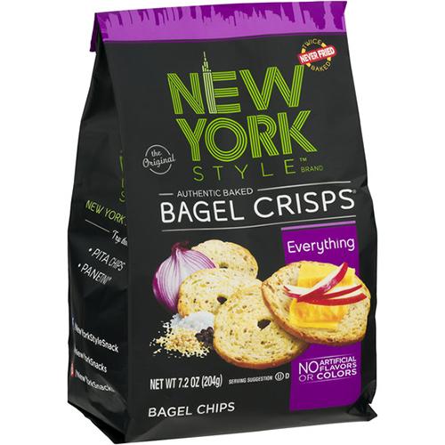 NEW YORK STYLE - BAGEL CRISPS - (Everything) - 7.2oz