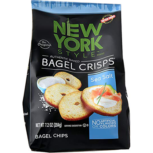 NEW YORK STYLE - BAGEL CRISPS - (Sea Salt) - 7.2oz