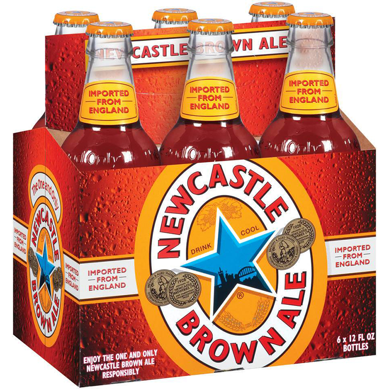 NEWCASTLE BROWN ALE - (Bottle) - 12oz(6PK)