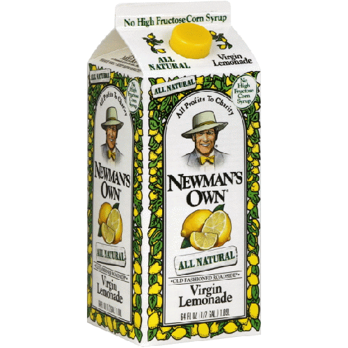 NEWMAN'S OWN - ALL NATURAL VIRGIN LEMONADE - 64oz