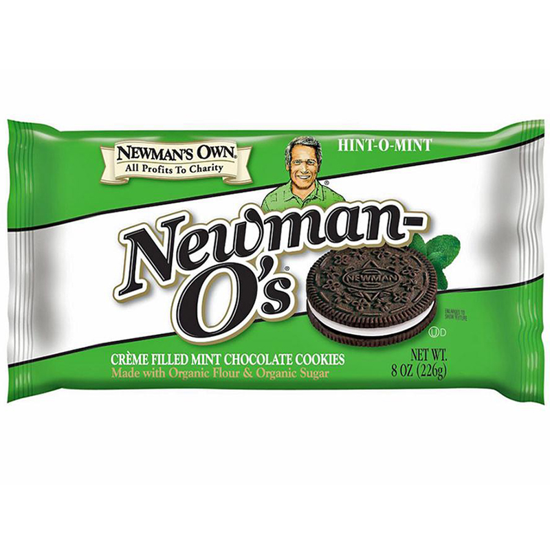 NEWMAN'S OWN - NEWMAN-O'S - (Hint-O-Mint) - 8oz