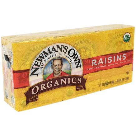NEWMAN'S OWN - ORGANIC RAISINS - 6oz
