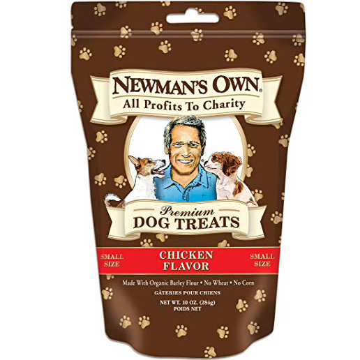 NEWMAN'S OWN - PREMIUM DOG TREATS - (Chicken | Small Size) - 10oz