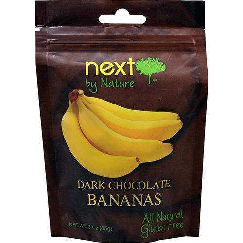 NEXT - DARK CHOCOLATE BANANAS - 4oz