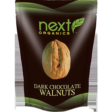 NEXT - DARK CHOCOLATE WALNUTS - 4oz