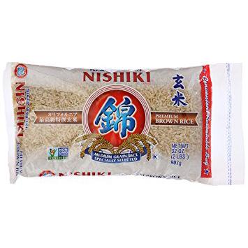 NISHIKI - BROWN RICE - NON GMO - 32oz