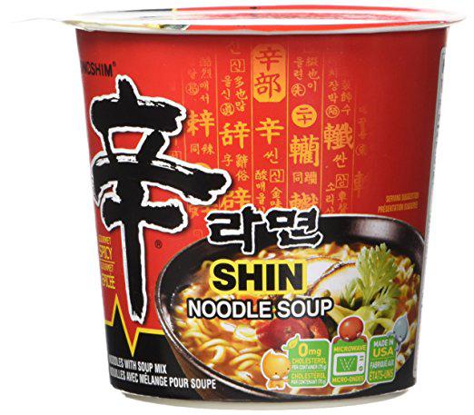 NONGSHIM - SHIN RAMEN - CUP (Original) - 4.02oz
