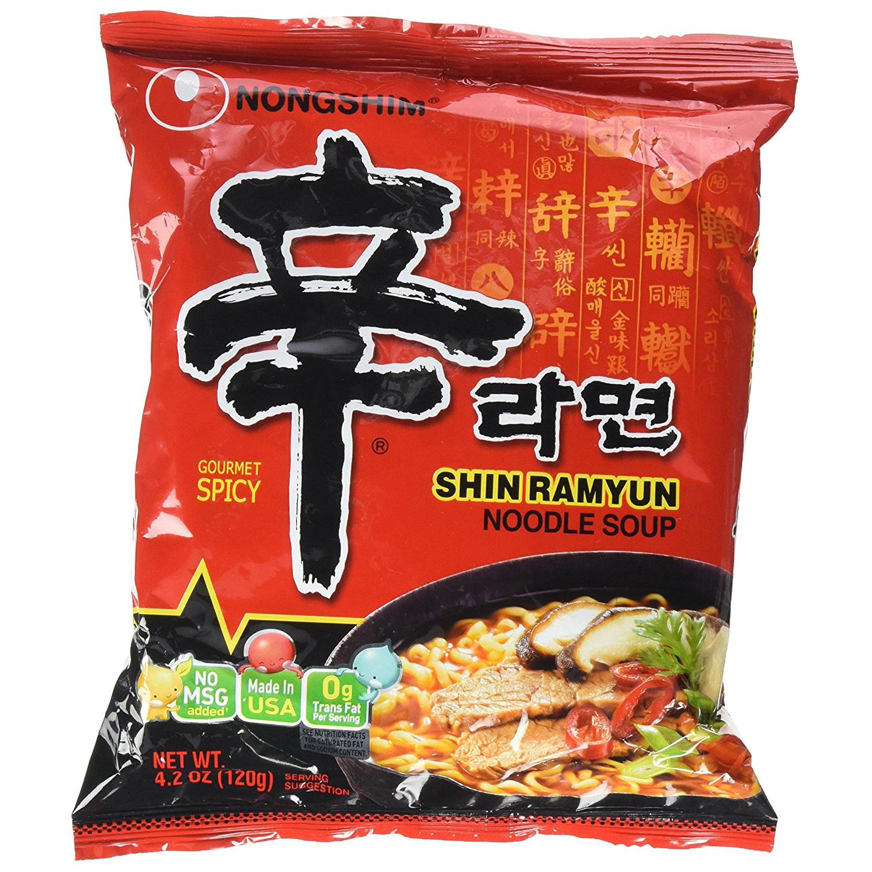 NONGSHIM - SHIN RAMYUN (Spicy) - 4.2oz