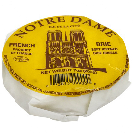 NOTRE DAME - BRIE CHEESE - 7oz