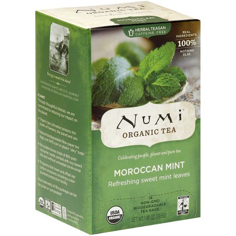 NUMI - ORGANIC TEA - (Moroccan Mint) - 18bags