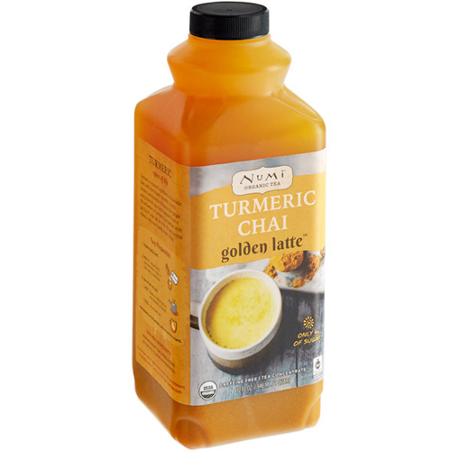 NUMI - TURMERIC CHAI - (Golden Latte) - 32oz