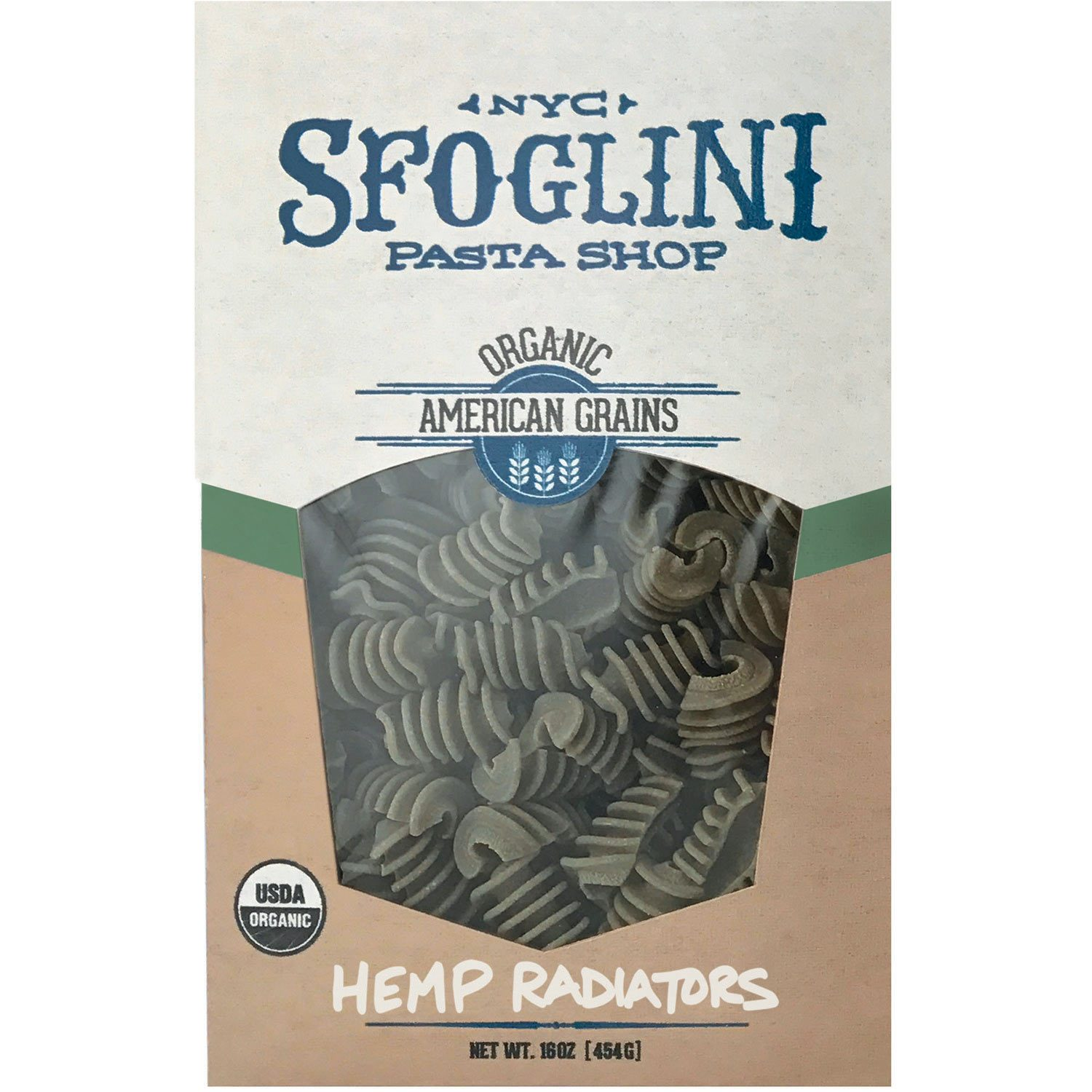 NYC SFOGLINI PASTA SHOP - HEMP RADIATORS - 16oz