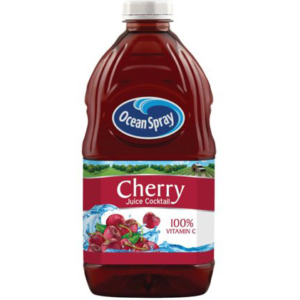 OCEAN SPRAY - CHERRY JUICE COCKTAIL - 64oz