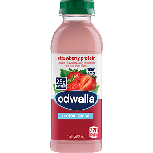 ODWALLA - PROTEIN SHAKE - (Strawberry Protein) - 15.2oz