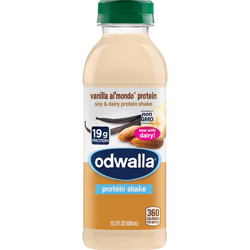 ODWALLA - PROTEIN SHAKE - (Vanilla Al'Mondo Protein) - 15.2oz