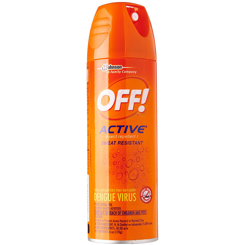 OFF! - ACTIVE INSECT REPELLENT I - 6oz