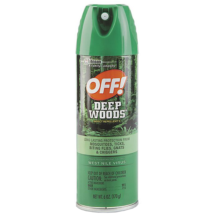 OFF! - DEEP WOODS INSECT REPELLENT V - 6oz