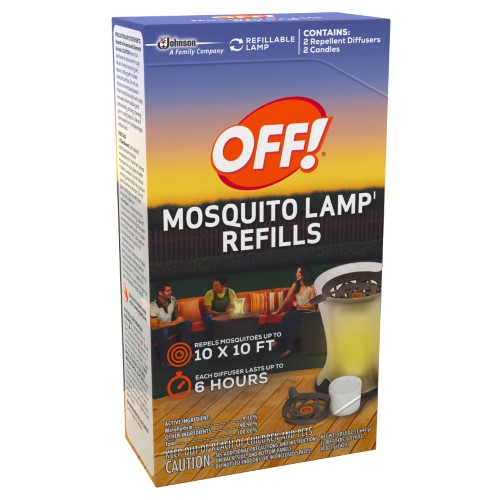 OFF! - MOSQUITO LAMP REFILL - 2count