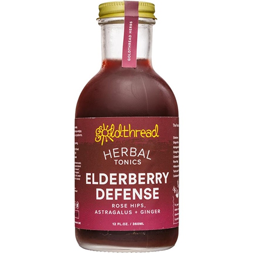 OLDTHREAD - PLANT BASED TONICS - (Elderberry Defense) - 12oz