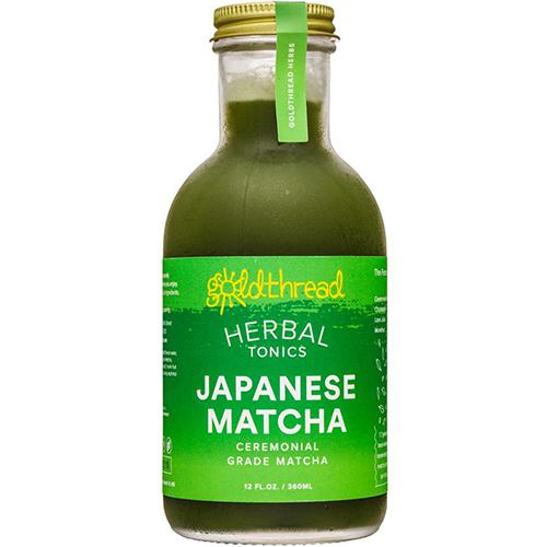 OLDTHREAD - PLANT BASED TONICS - (Japanese Matcha) - 12oz