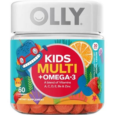 OLLY - KIDS MULTI - OMEGA3 - 60 GUMMIES