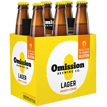 OMISSION LAGER - (Bottle) - 12oz(6PK)
