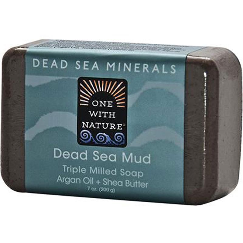 ONE WITH NATURE - DEAD SEA MINERAL SOAP - (Dead Sea Mud) - 7oz