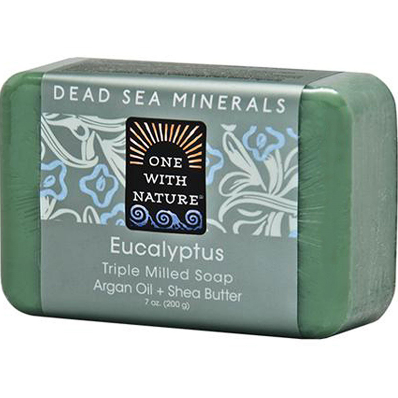 ONE WITH NATURE - DEAD SEA MINERAL SOAP - (Eucalyptus) - 7oz