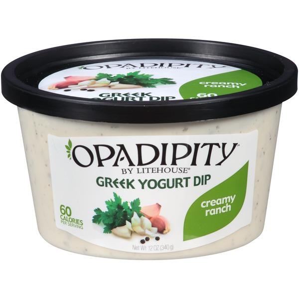 OPADIPITY - GREEK YOGURT DIP - (Creamy Ranch) - 12oz