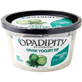 OPADIPITY - GREEK YOGURT DIP - (Cucumber Dill) - 12oz