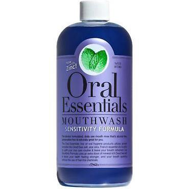 ORAL ESSENTIALS - MOUTHWASH - (Sensitivity Formula) - 16oz