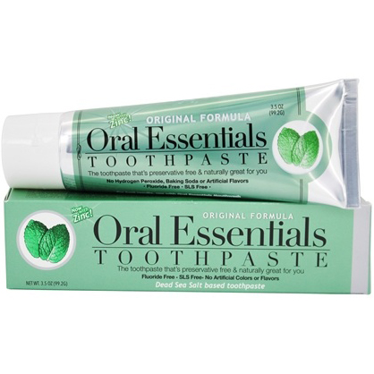 ORAL ESSENTIALS - TOOTHPASTE - (Original Formula) - 3.5oz