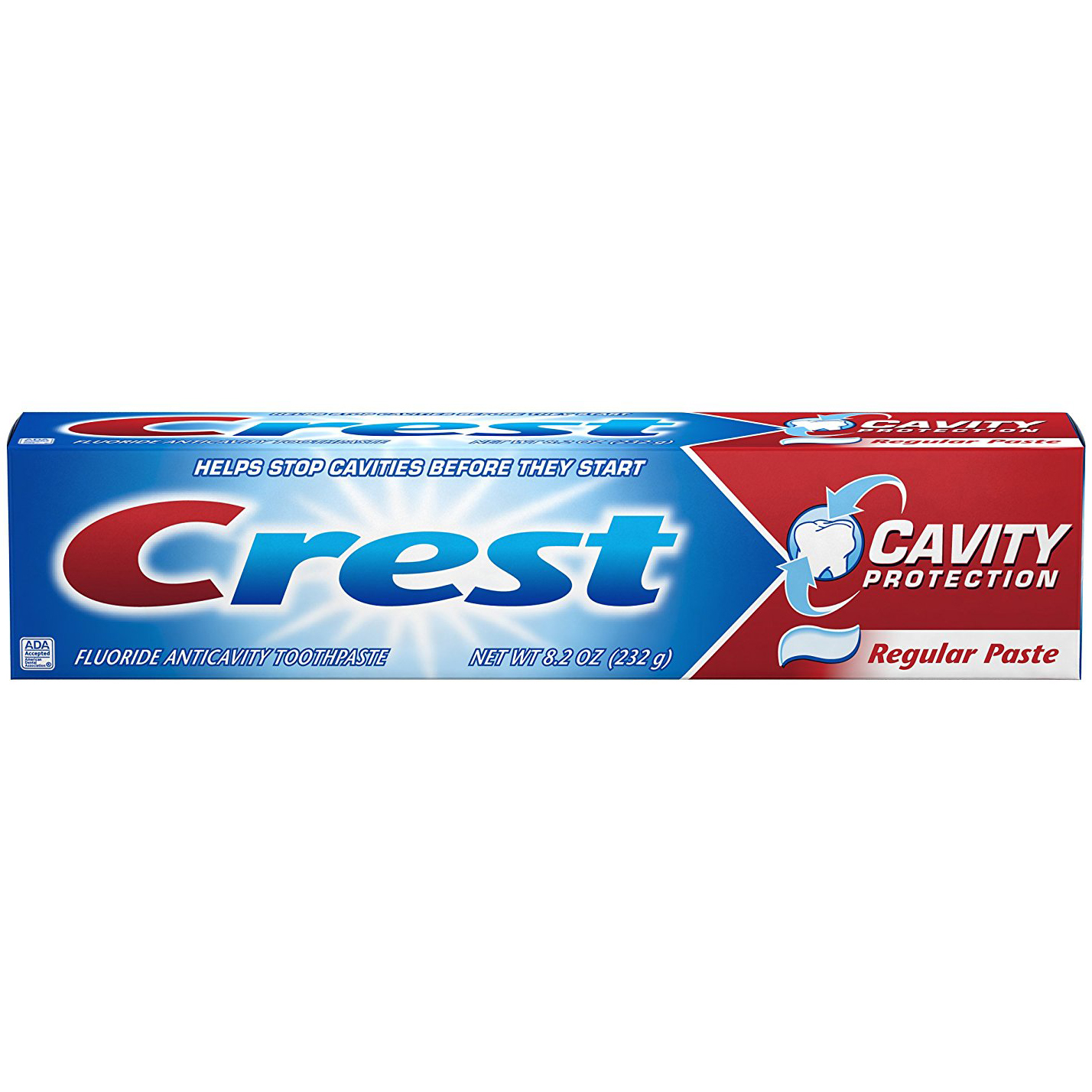 ORAL-B - CREST CAVITY PROTECTION- (Regular Paste) - 6.4oz
