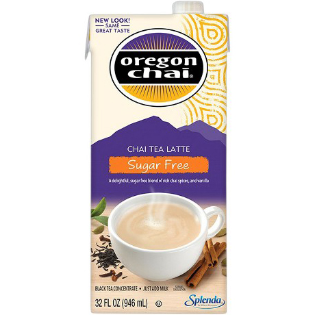 OREGON CHAI - CHAI TEA LATTE - (Sugar Free) - 32oz