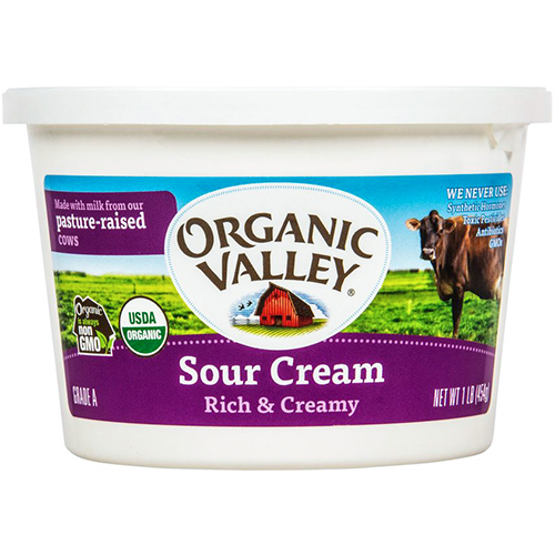 ORGANIC VALLEY - SOUR CREAM RICH & CREAMY - 16oz