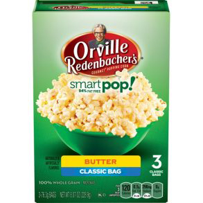 ORVILLE REDENBACHER'S - SMART POP - (Butter | 3 Classic Bags) - 8.07oz
