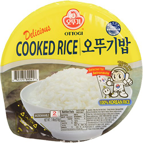 OTTOGI - COOKED RICE - 100% KOREAN SUSHI RICE - 7.4oz