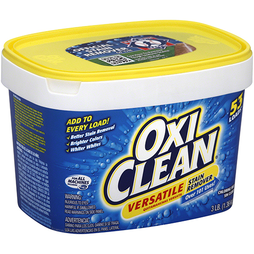OXI CLEAN - 65 LOADS VERSATILE STAIN REMOVER - 3LB