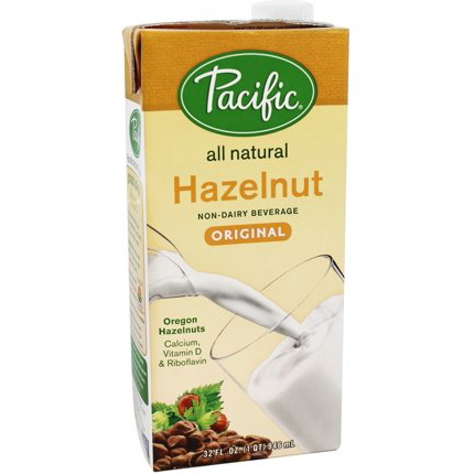 PACIFIC - HAZELNUT MILK - (Original | Unsweetened) - 32oz
