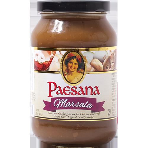 PAESANA - GOURMET COOKING SAUCE - (Marsala) - 16oz