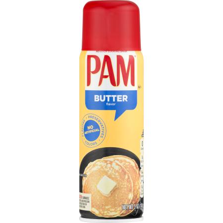 PAM - COOKING SPRAY (Butter) - 5oz