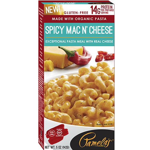 PAMELAS'S - SPICY MAC N' CHEESE - NON GMO - GLUTEN FREE - 5oz