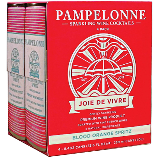 PAMPELONNE-SPARKLING WINE COCKTAILS - (Blood Orange Spritz) - 33.6oz(4pck)