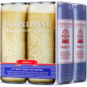 PAMPELONNE-SPARKLING WINE COCKTAILS - (French 75) - 33.6oz(4pck)