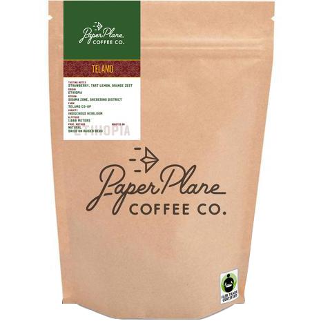 PAPER PLANE - COFFEE BEANS - (Telamo) - 8oz