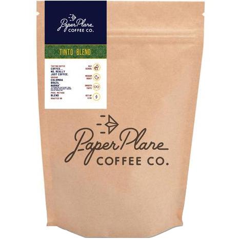 PAPER PLANE - COFFEE BEANS - (Tinto) - 8oz