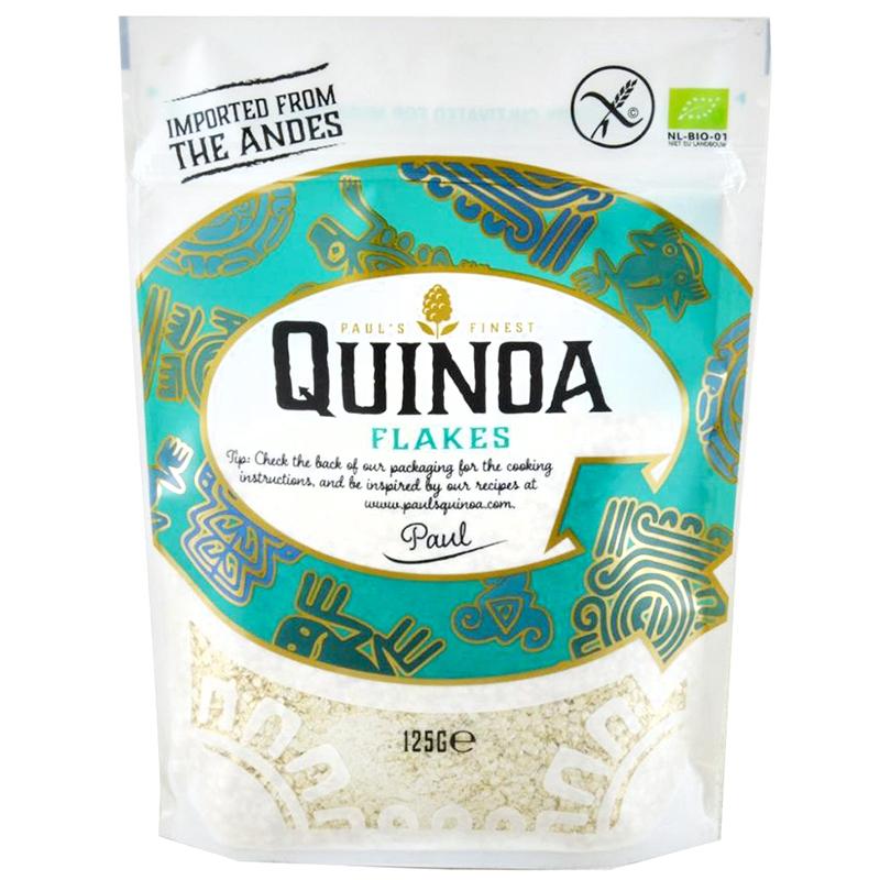 PAUL'S FINEST - ORGANIC QUINOA FLAKES - NON GMO - GLUTEN FREE - 4.4oz